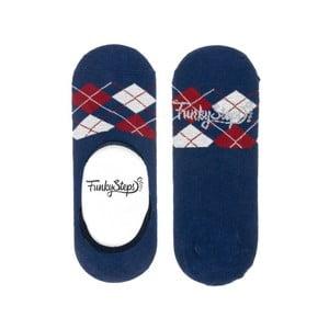 Farebné nízke ponožky Funky Steps Polo Cube, veľkosť 35 - 39