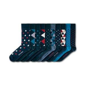 Sada 10 ponožiek Black&Parker London Bunny, veľkost 37 – 43