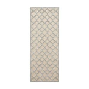 Sivokrémový behúň Mint Rugs Shine Mero, 80 × 250 cm