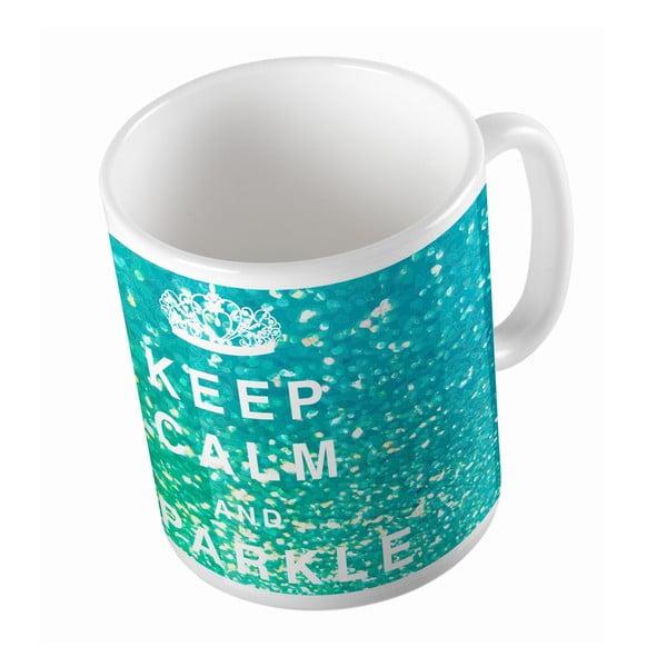 Keramický hrnček Keep Calm, 330 ml