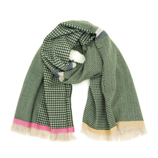 Zelený šál Avril