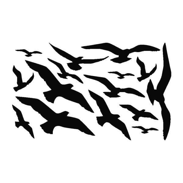 Sada 15 samolepiek Ambiance Seaguls