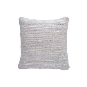 Vankúš Chindi, 45x45 cm, biely