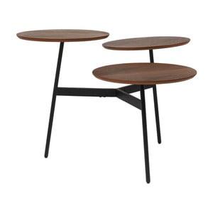 Stolík s 3 odkladacími doskami Kare Design Bonsai