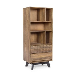 Knižnica z mangového dreva Bizzotto Emira
