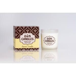 Vonná sviečka Spiced Vanilla v darčekovom balení, 45 hodín horenia