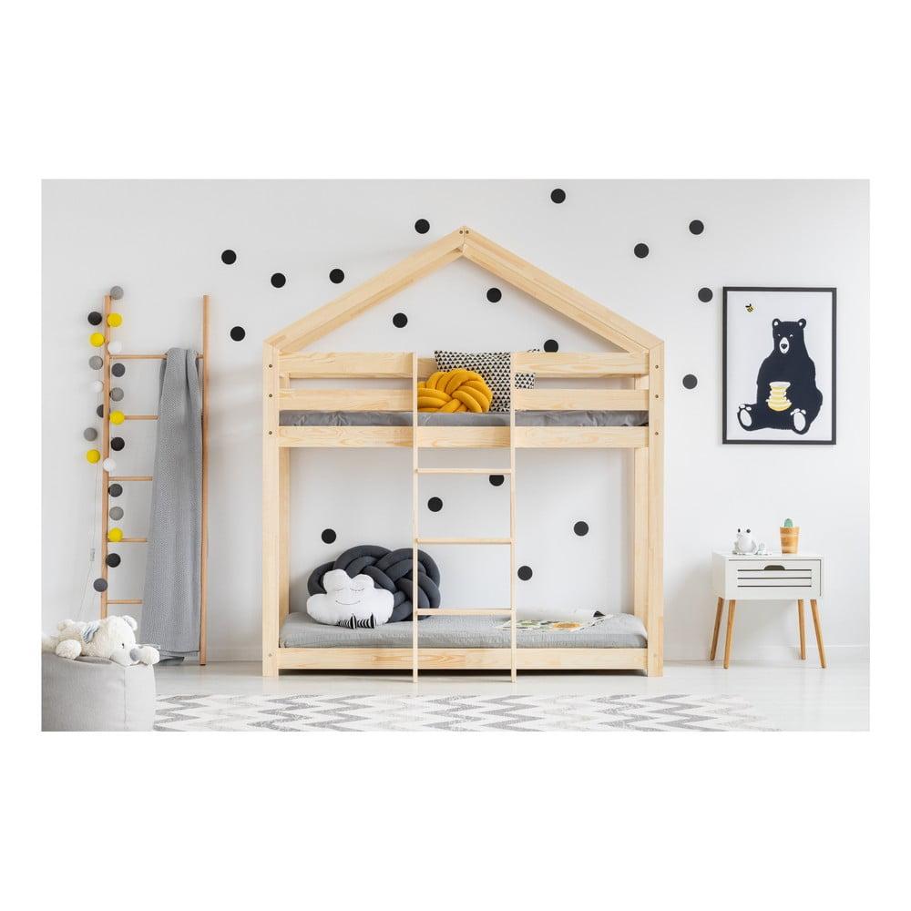 Domčeková palanda z borovicového dreva Adeko Mila DMP, 90 x 160 cm