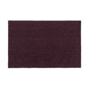 Tmavovínová rohožka Tica Copenhagen Unicolor, 40 x 60 cm