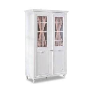 Biela šatníková skriňa Romantica 2 Door Wardrobe With Window