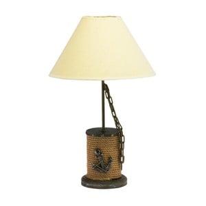 Námornická stolová lampa Wooden Rope