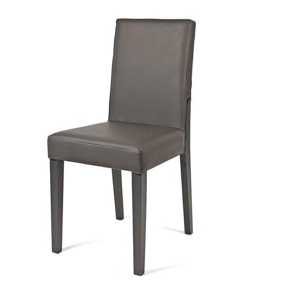 Jedálenská stolička Kelly, sivá