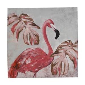 Nástenný obraz na plátne Geese Modern Style Flamingo Uno Cubico, 100 × 100 cm