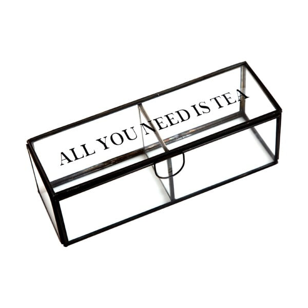 Box Cristal All You Neeed Is Tea