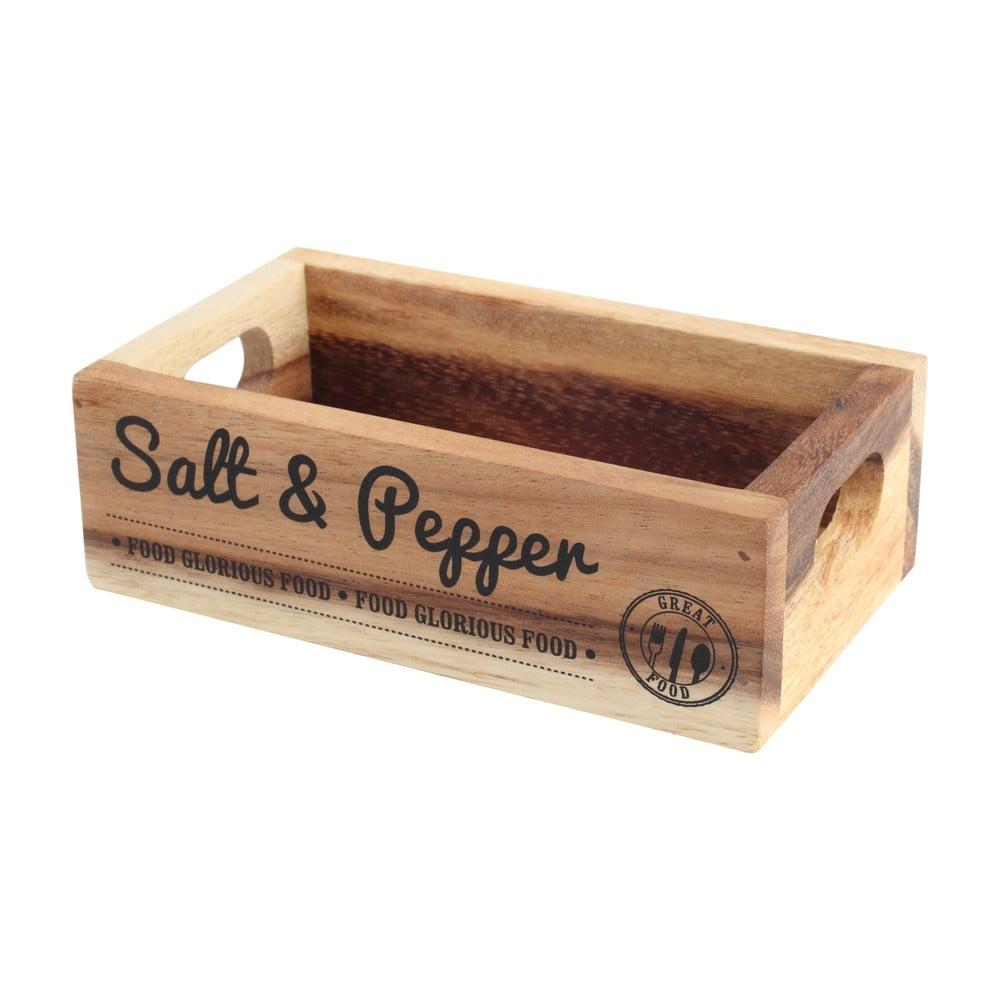 Stojanček na soľ a korenie z akáciového dreva T&G Woodware Glorious
