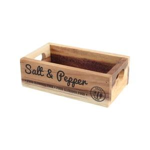 Stojan na soľ a korenie z agátového dreva T&GWoodware Glorious