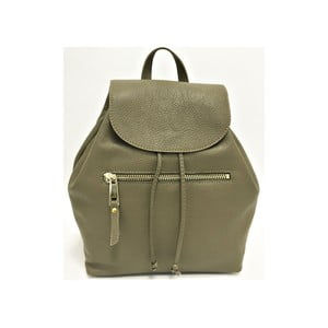 Kožený batoh Era Taupe