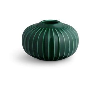 Zelený porcelánový svietnik Kähler Design Hammershoi, ⌀ 8 cm