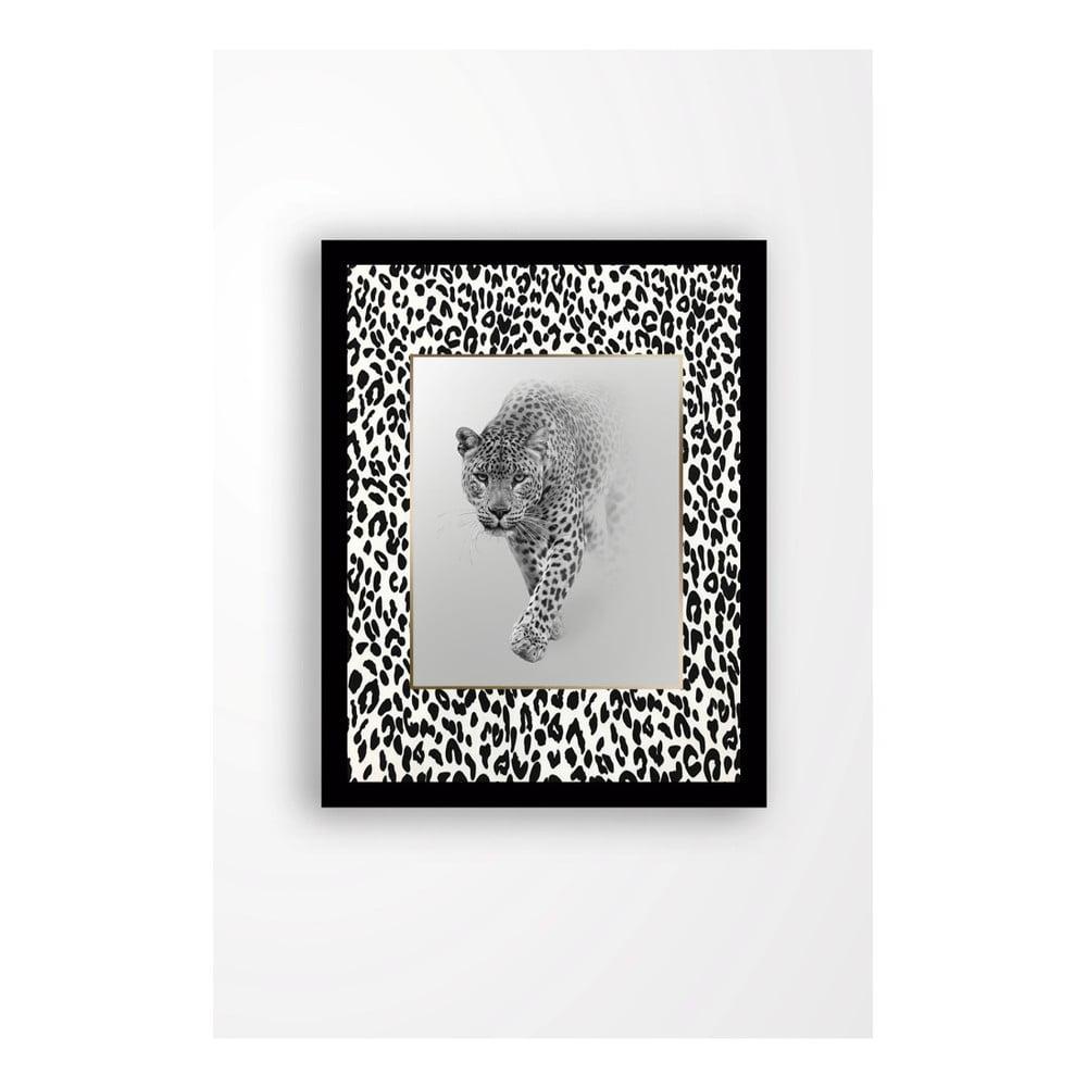 Nástenný obraz na plátne v čiernom ráme Tablo Center Beast, 29 × 24 cm