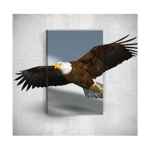 Nástenný 3D obraz Mosticx Eagle, 40×60 cm