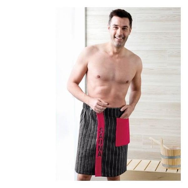Pánsky sarong Black, 50x136 cm