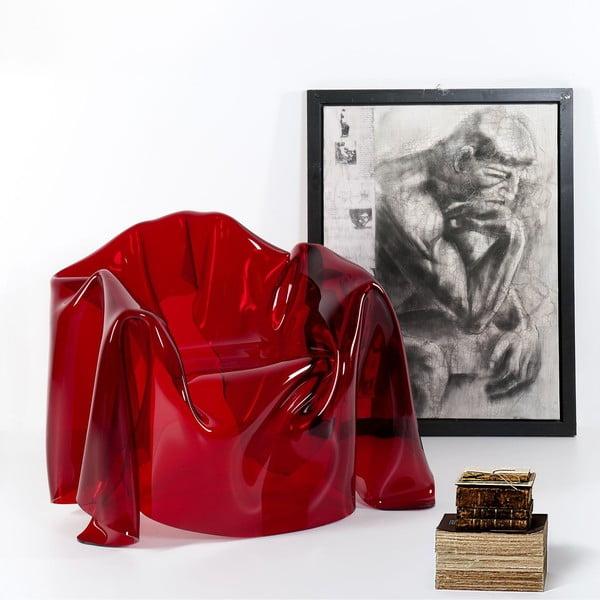 Kreslo Drapppeggi Poltrona Rosso