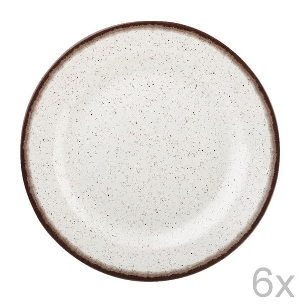 Sada 6 ks tanierov Bakewell Mint, 20 cm