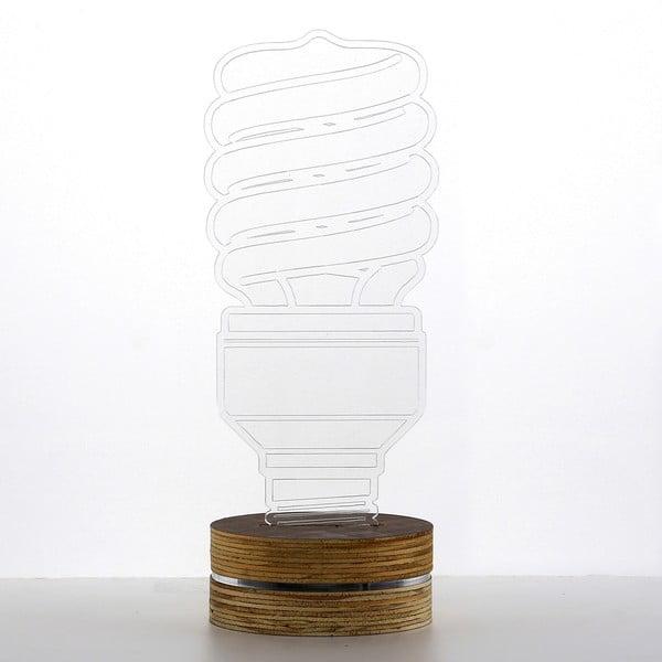 3D stolová lampa Twist