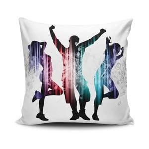 Vankúš s prímesou bavlny Cushion Love Trio, 45 × 45 cm