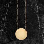 Náhrdelník Disk Gold z kolekcie Geometry