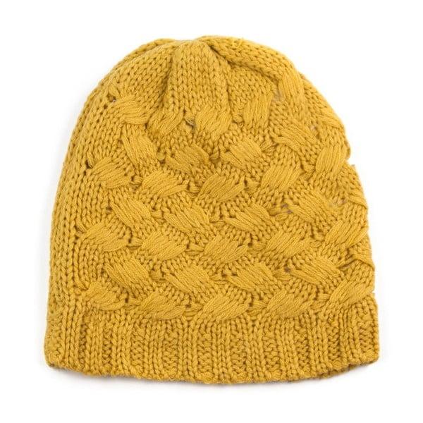Žltá čapica Claire