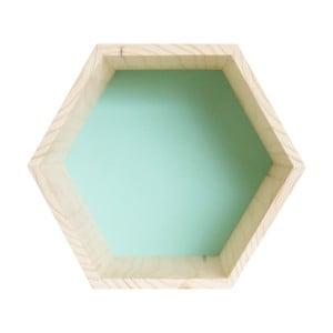 Dekorácia Hexagono Nordic Azul