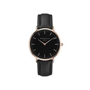 Čierne dámske hodinky Rosefield The Bowery