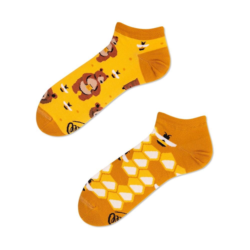 Členkové ponožky Many Mornings Honey Bear, veľ. 43-46