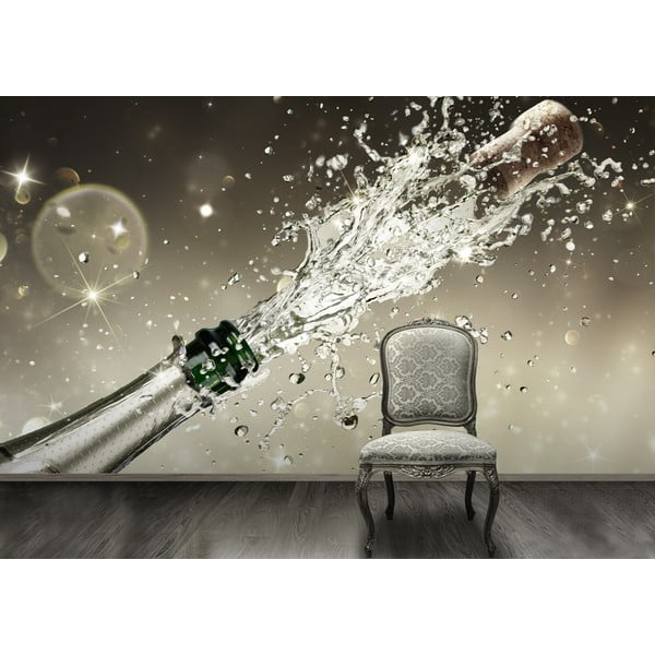 Veľkoformátová tapeta Šampaňské, 315x232 cm