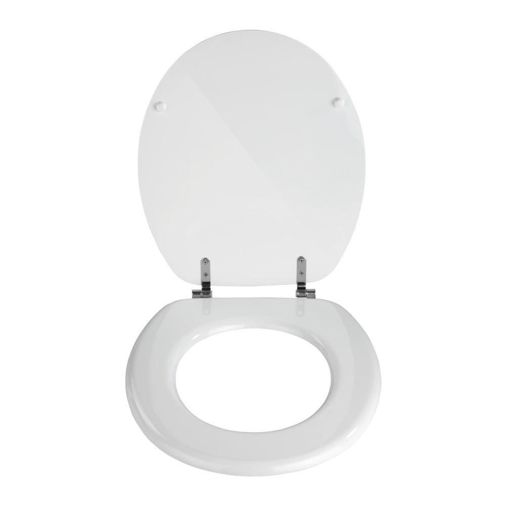 Biela toaletná doska Wenko Valencia