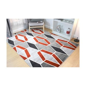 Koberec Flair Rugs Cocktail Maitai Grey Terracotta, 160 × 230 cm