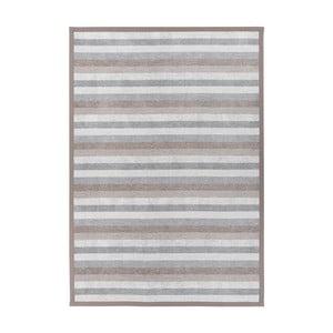 Sivý obojstranný koberec Narma Treski Linen, 200 x 300 cm