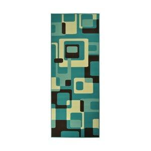 Modrý koberec Hanse Home Hamla Retro, 80x150 cm