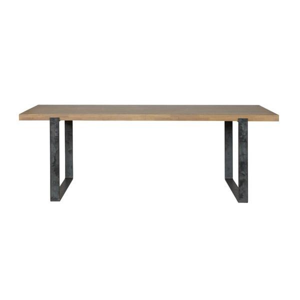 Jedálenský stôl s olejovanou doskou z dubového dreva WOOOD Jamie, 90×220cm