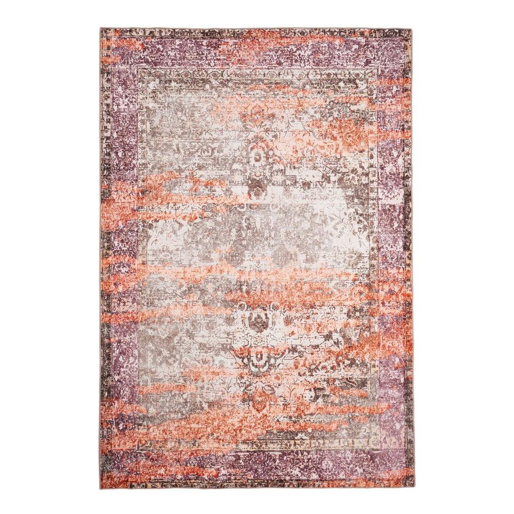 Béžovo-oranžový koberec Floorita Vintage, 80x150cm
