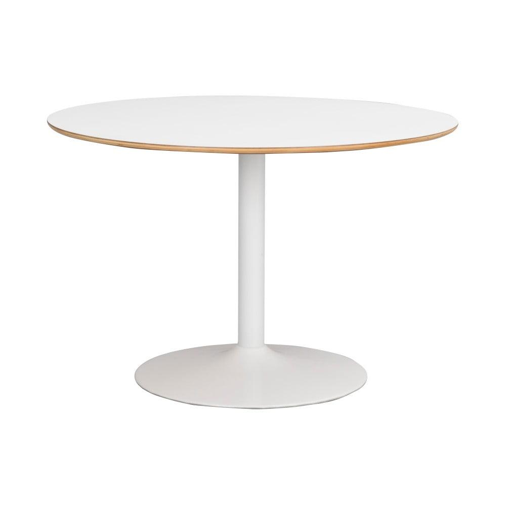 Biely jedálenský stôl Rowico Alet