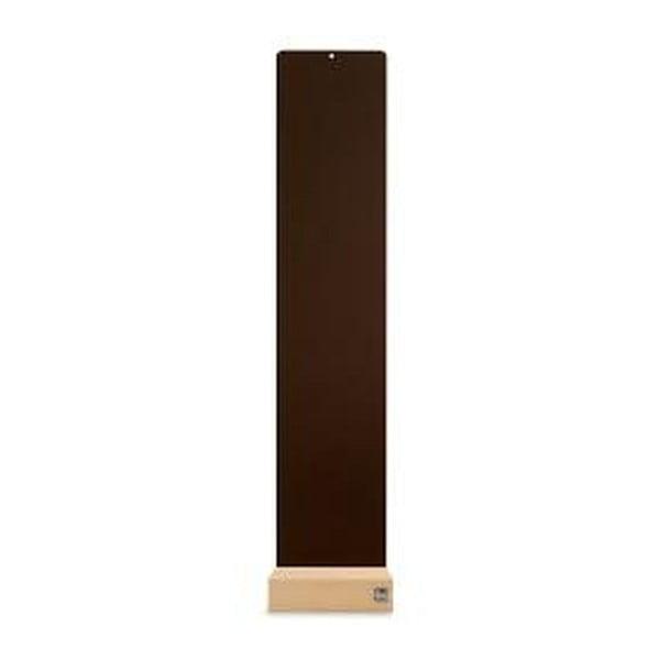 Podstavec na magnetické kvetináče, hnedý, 14x70 cm
