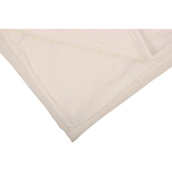 Pléd Toison White, 125x150 cm