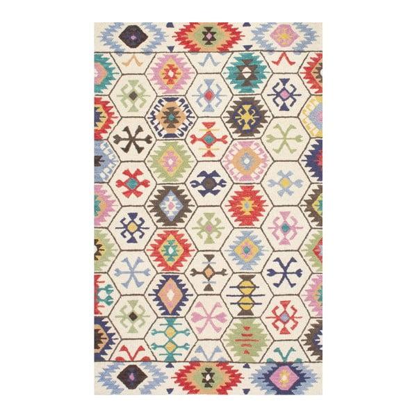 Vlnený koberec Azteco, 152x244 cm