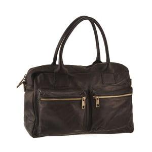 Čierna kožená kabelka Ore Diece Stama