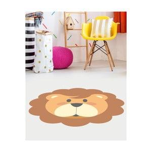Detský vinylový koberec Floorart Lev, ⌀ 100 cm