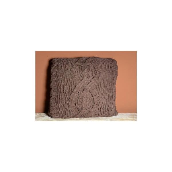 Pletená obliečka na vankúš India, 45x45 cm