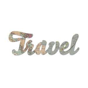 Nástenná dekorácia Travel