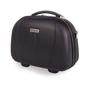 Čierny cestovný kozmetický kufrík Tempo