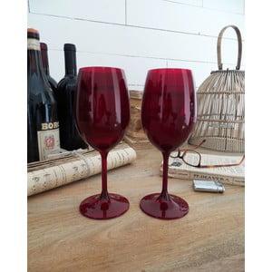 Sada 6 pohárov na víno Rosso